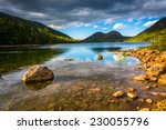 Jordan Pond And View Of The...