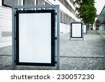 empty billboard with space for... | Shutterstock . vector #230057230