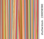 Abstract Rainbow Curved Stripe...