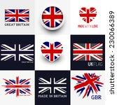 Set Of Various British Flags...