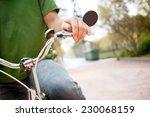 bicyclist | Shutterstock . vector #230068159