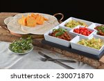 mexican food   chilli ... | Shutterstock . vector #230071870