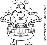 a cartoon illustration of a... | Shutterstock .eps vector #230078524