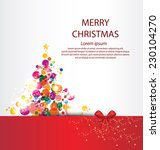 Christmas Greeting Card. Vecto...