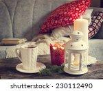 still life interior details ... | Shutterstock . vector #230112490