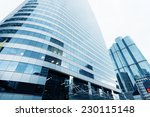 modern city office building... | Shutterstock . vector #230115148
