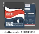 vector  business corporate... | Shutterstock .eps vector #230133058