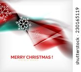 red color christmas blurred...   Shutterstock .eps vector #230165119