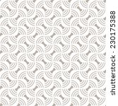 vector seamless pattern.... | Shutterstock .eps vector #230175388