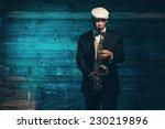 vintage african american jazz... | Shutterstock . vector #230219896