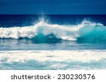 splash wave on the surface of... | Shutterstock . vector #230230576