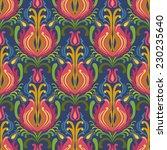 floral vector seamless pattern. ... | Shutterstock .eps vector #230235640
