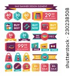 pet sale banner flat design... | Shutterstock .eps vector #230238508