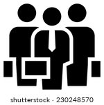 business team icon | Shutterstock .eps vector #230248570