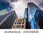 skyscrapers in lower manhattan  ... | Shutterstock . vector #230256820