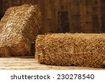 studio shot of hay  isolated on ... | Shutterstock . vector #230278540