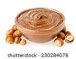 sweet chocolate hazelnut spread ... | Shutterstock . vector #230284078