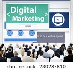 business people digital... | Shutterstock . vector #230287810