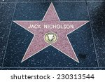 hollywood   may 12  jack... | Shutterstock . vector #230313544