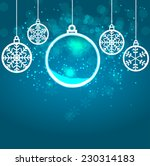 abstract beauty christmas and... | Shutterstock .eps vector #230314183