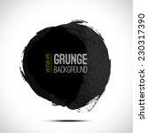 abstract vector grunge... | Shutterstock .eps vector #230317390