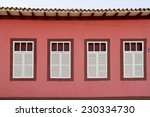 Windows Of Brazilian Colonial...