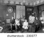 vintage photo of a family... | Shutterstock . vector #230377