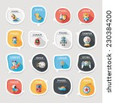 toy speech bubble banner design ... | Shutterstock .eps vector #230384200
