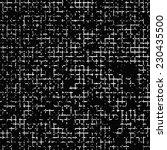 vector grunge texture. black... | Shutterstock .eps vector #230435500