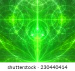 abstract glowing green... | Shutterstock . vector #230440414