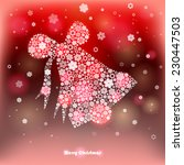 vector illustration of a winter ... | Shutterstock .eps vector #230447503