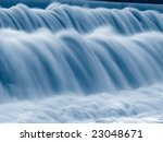 Closeup Shot Of Falling Water ...