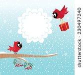 Stock Illustration Of Two Bird...