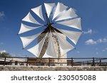 windmill in antimahia  kos ... | Shutterstock . vector #230505088