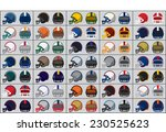 collection of american football ...