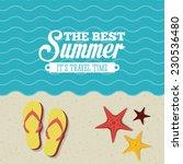 summer graphic design   vector... | Shutterstock .eps vector #230536480