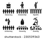 type of government   democracy... | Shutterstock .eps vector #230539363