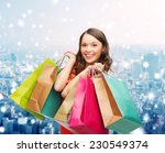 sale  gifts  christmas ... | Shutterstock . vector #230549374