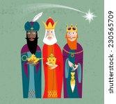Three Kings. Three Wise Men...