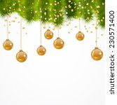 christmas background | Shutterstock .eps vector #230571400