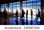 silhouettes of business people... | Shutterstock . vector #230587234
