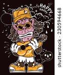 illustration for street art... | Shutterstock .eps vector #230594668
