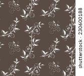 vector retro floral background...   Shutterstock .eps vector #230600188