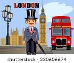 the big ben | Shutterstock .eps vector #230606674