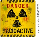 Radiation Warning  Vector...