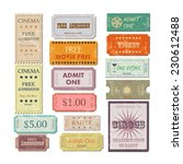 illustration of various... | Shutterstock .eps vector #230612488