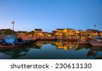 hoi an old town in vietnam... | Shutterstock . vector #230613130