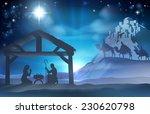 religious nativity christian... | Shutterstock .eps vector #230620798