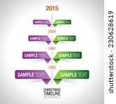 timeline infographic elements... | Shutterstock .eps vector #230628619