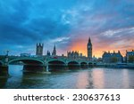 Ityscape Of Big Ben And...
